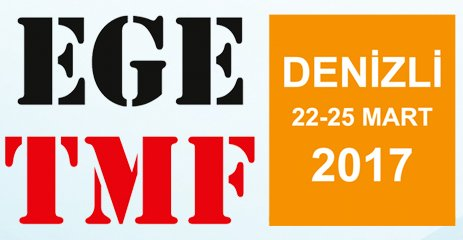 EGE TMF - Aegean Textile, Garment Machinery, textile Chemicals and Printing Technology Exhibition.